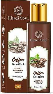 Khadi Soul Coffee Face Wash|Natural|Anti Bacterial|Chemical Free, 200 ml