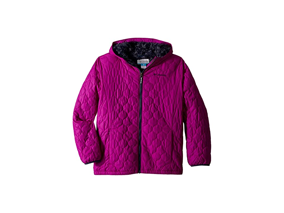 Columbia Kids Bella Plush Jacket (Little Kids/Big Kids) (Bright Plum/Nocturnal) Girl