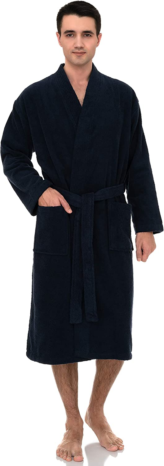 TowelSelections Tucson Mall Men's Luxury Robe Turkish Terry Cotton Kim 100% quality warranty
