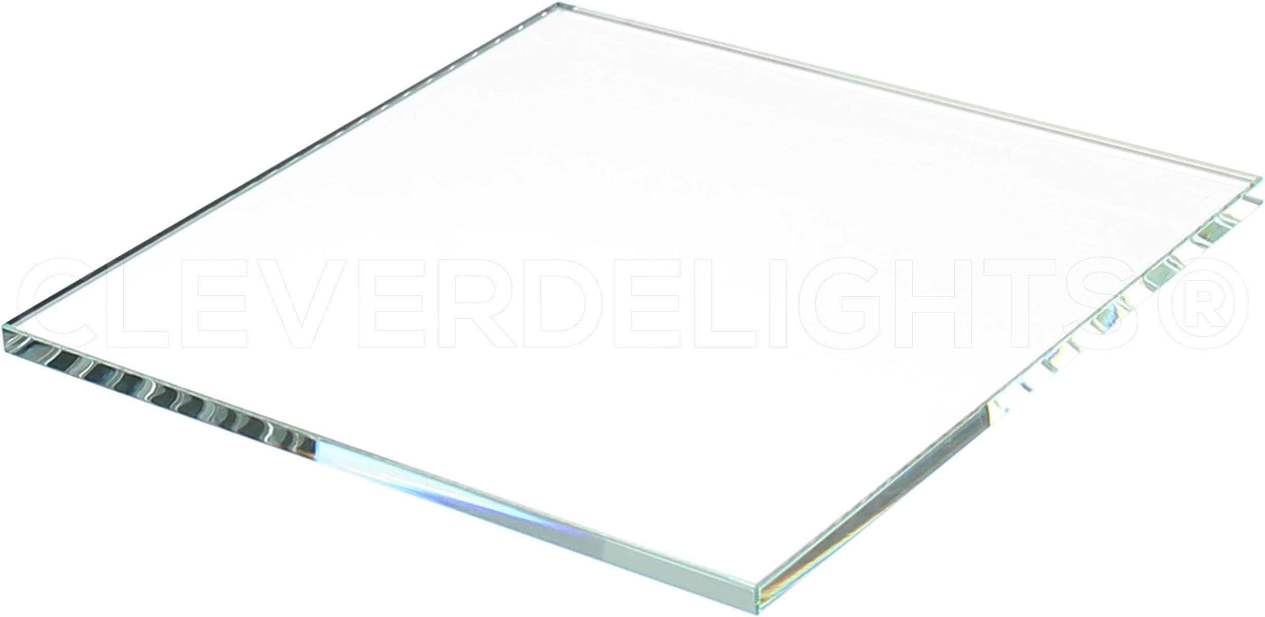 Clear Transparent Tiles 3 x 3 x 58 Inch 20 Pk Solid Glass Tiles 3 Square Glass Tiles 58 Thick