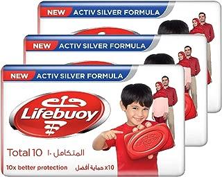 Lifebuoy Bar Total 10, 160g (3 pieces)