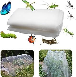 10 x 2,5 m rośliny ogrodowe ochrona roślin siatka siatka przeciw motyl ptak owady ochrona zwierząt siatka sieć tunel szkla...