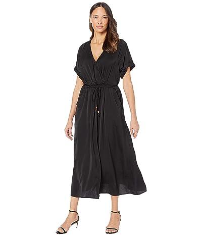 Karen Kane Cuffed Sleeve Dress (Black) Women