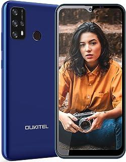 OUKITEL C23 Pro SIMフリー スマホ 本体 4Gスマートフォン Android 10.0スマホ CPU Helio P22携帯電話 5000mAhバッテリー 6.5 インチ大画面 デュアルSIM 指紋ロック解除 4GB RAM+...