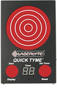 LASERLYTE trainer target Quick Tyme with 62 LEDs that light up SHOT TIMER built in to..