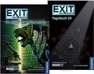 EXIT - Boken: Dagbok 29 - 63 Pussel för tindrande och pusselspel + Hemlighetens klotter (Pocketbok)