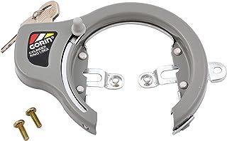 GORIN(ゴリン) リング錠 [GR700] シリンダーキー式 シルバーグレーGR-700 SL