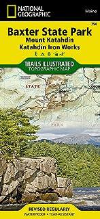 Baxter State Park / Mount Katahdin (Trails Illustrated Map #754)