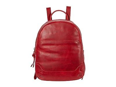 Frye Melissa Medium Backpack (Red) Backpack Bags