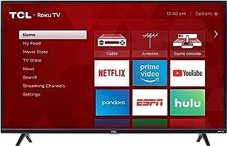 TCL 43-inch 1080p Smart LED Roku TV - 43S325, 2019 Model