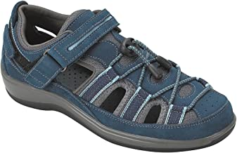 Orthofeet Proven Heel and Foot Pain Relief. Extended Widths. Best Orthopedic Bunions Arch Support Diabetic Women's Sandals Naples