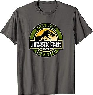Jurassic Park Classic Park Staff Logo T-Shirt