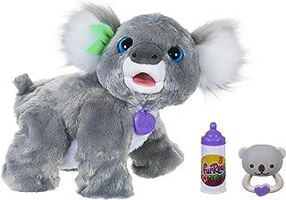 Hasbro E9618 furReal Koala Kristy interactief speelgoeddier, 60+ geluiden en reacties, vanaf 4 jaar
