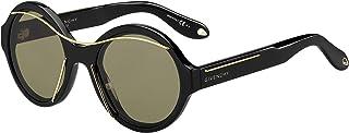 نظارات شمسية دائريه من جيفنشي للجنسين - ذهبي