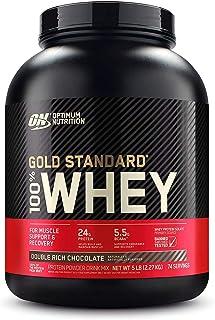 اوبتيمال جولد ستاندرد 100% مصل اللبن- شوكولاتة غنية مزدوجة - 5 رطل