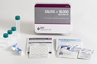 12 Hormone Comprehensive Female Profile I Home Test Kit (Saliva: E2, Pg, T, DS, Cx4; Blood: TSH, fT3, fT4, TPO)