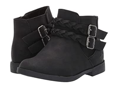 Blowfish Kids Settle-T (Toddler/Little Kid) (Black Rodeo PU) Girls Shoes