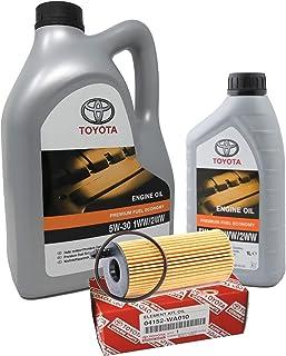 Originele Toyota PFE 5W-30 1WW 2WW, 6 liter (dieselmotoren) + originele oliefilter