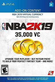 NBA 2K19: 35000 VC Pack - PS4 [Digital Code]
