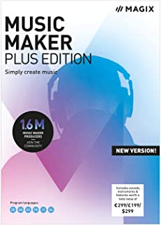 MAGIX Music Maker 2019 | Plus | PC | Codice d'attivazione per PC via email