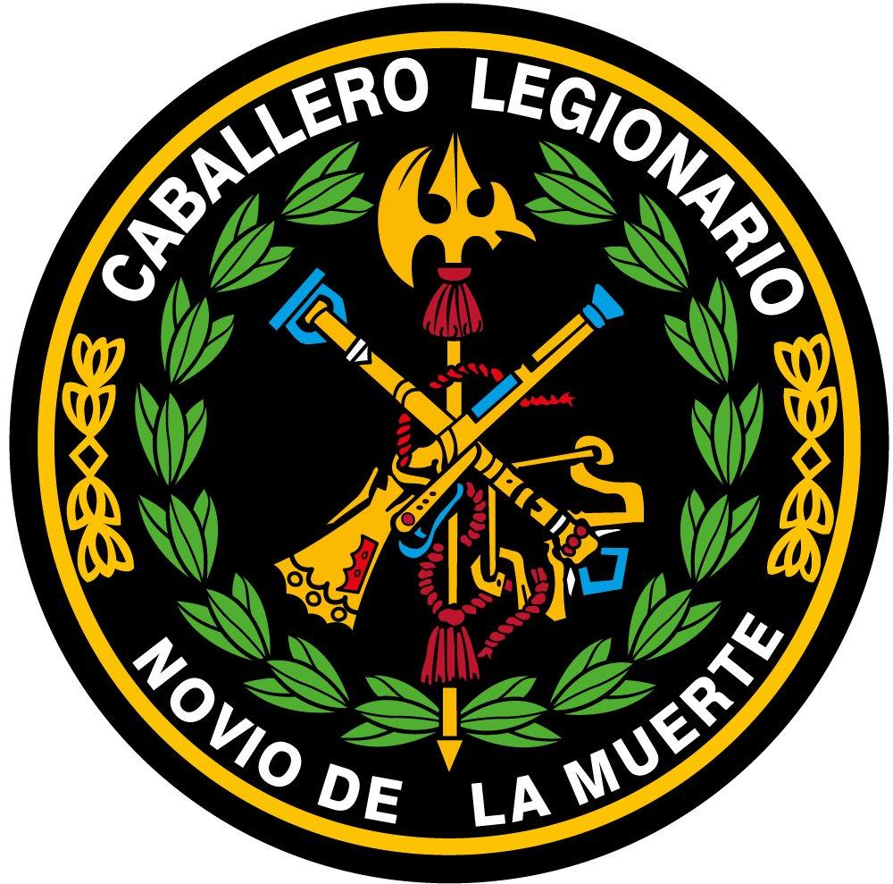 Artimagen Pegatina Círculo Logo Legión Color y Laurel ø 50 mm.: Amazon.es: Coche y moto