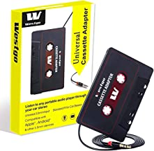 Westgo Audio Aux Cassette Adapter-Car Cassette Adapter-Audio Cassette Player-Retro and..