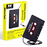 Amazon.com: iiwey Cassette Adapter for Cars, 2019 Upgrade ...