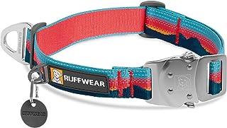 RUFFWEAR Top Rope Collar para Perro, Collar Reflectante con Hebilla Metálica para Uso Diario, Sunset, 51-66 cm