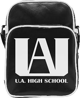 – My Hero Academia Bolsa bandolera vinilo – u.a. Emblem Unisex adulto, 20 x 27 x 7 cm, abybag268 , color/modelo surtido