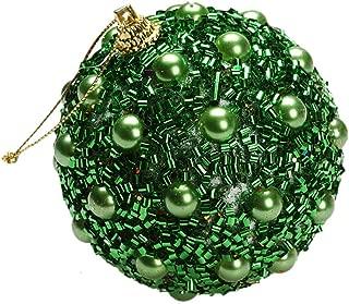 iZHH Christmas Ball Ornaments Pendants Creative Ball with Sequin Shatterproof Xmas Tree Decoration Ball Set for Christmas Hanging Ornaments Super Large