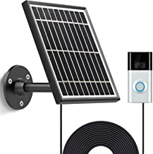 Solarladegerät für Ring Video Doorbell 3 und Ring Video Doorbell 3 Plus