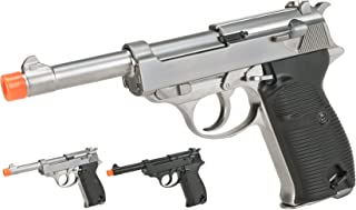 Evike - WE Heavy Weight P38 Airsoft Gas Blow Back Pistol