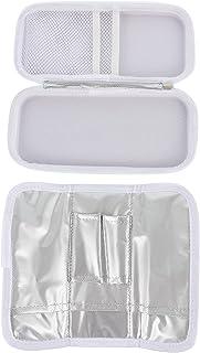 EXCEART Refrigerador de Insulina Estojo de Viagem Saco Organizador de Medicação Diabéticos Medicina Cooler Caso para Canet...