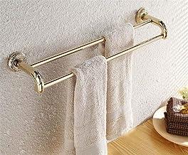 MBYW moderne minimalistische hoge dragende handdoek rek badkamer handdoekenrek Gouden antiek gesneden handdoek rek handdoe...
