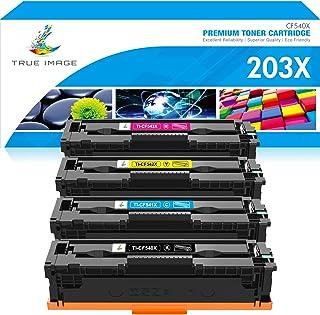 استبدال خرطوشة حبر متوافقة مع الصور الحقيقية لـ HP 202A CF500A M281 لون ليزر جيت برو MFP M281fdw M281cdw M254nw M281fdn M2...
