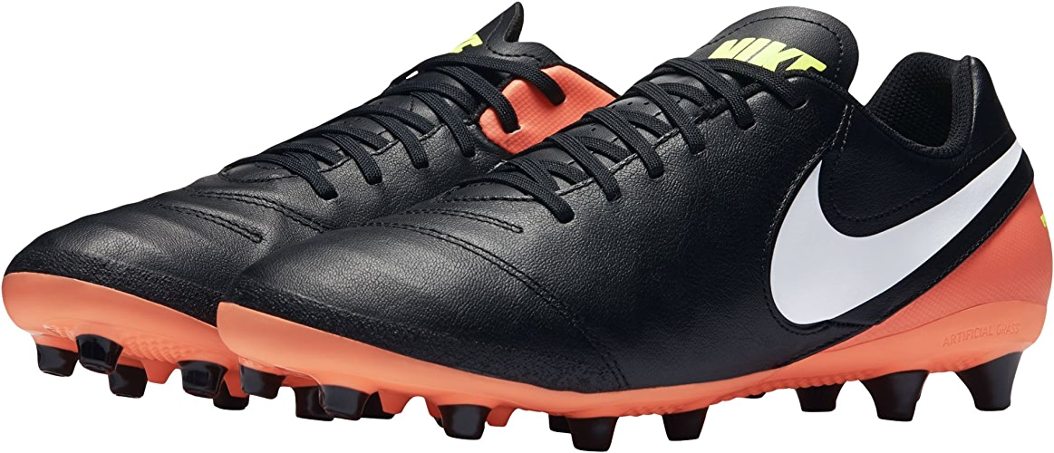 Nike Tiempo Genio II Leather AG-Pro, Chaussures de Football Homme