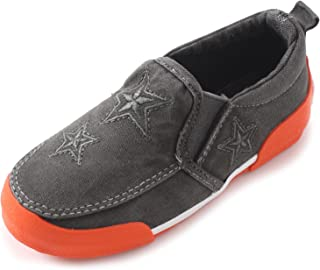 Alexis Leroy Kid's Slip on Star Fashion Canvas Shoes