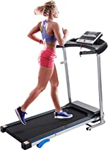 Merax Electric Folding Treadmill Motorized Running Machine with Speaker and Built-in..