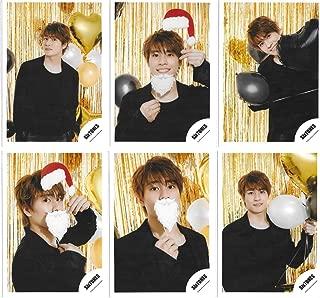 森本慎太郎 SixTONES Greeting Photo 〜クリスマスver.〜 オフショット 公式 写真 個人6枚セット...