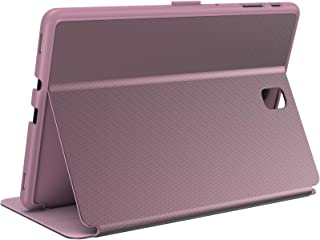 Speck Products Balancefolio Metallic Samsung Galaxy Tab S4 Case and Stand, Lace Pink/Peony Pink/Slipper Pink