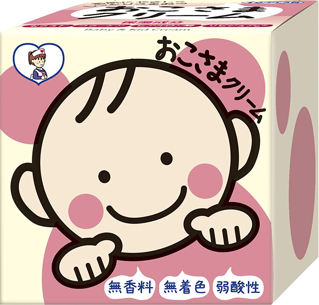 百万従事したたらいTO-PLAN(トプラン) おこさまクリーム110g 無着色 無香料 低刺激クリーム