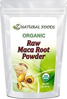 Organic Maca Root Powder - Adaptogen Superfood Supplement - Red, Yellow & Black Blend Grown In Peru - Mix In Drinks, Juice...