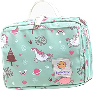 SUNVENO Diaper Bag Fashion Colorful Wet Bag Waterproof Diaper Bag Washable Cloth Diaper Baby Bag Reusable Wet Bags Organizer for Mom (Green, S)