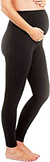 Maternity Leggings Over The Belly Stretch Seamless Nursing Clothes Tights Gift