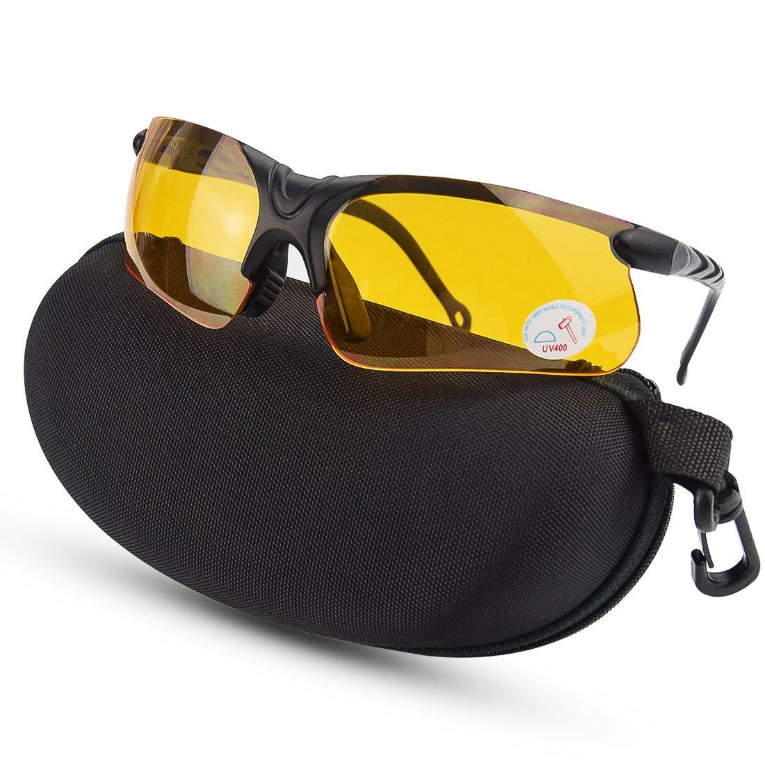 XAegis Shooting Glasses Polycarbonate Padding