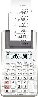 Casio HR-8RC-WE Next-Gen Printing Calculator, 0.345 kilograms