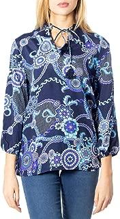 Luxury Fashion | Desigual Womens 19WWBWXMBLUE Blue Blouse | Autumn-Winter 19