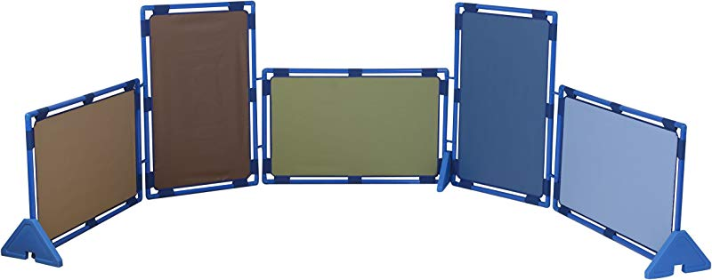Cozy Woodland Play Panels Set Of 5 Rectangles