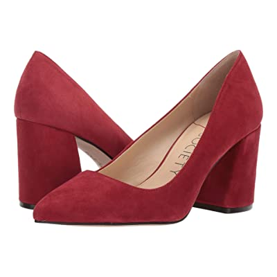 SOLE / SOCIETY Twila (Deep Red) High Heels