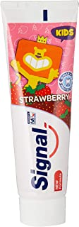 Signal Kids 2-6 years - Toothpaste Strawberry, 75ml